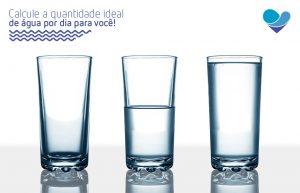 Calcule a quantidade de água ideal por dia para você