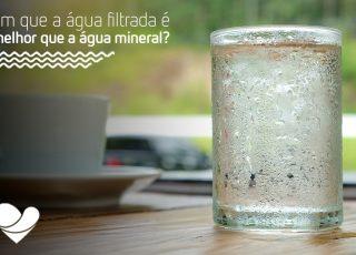 Você sabe de onde vem a água mineral e a água filtrada? Aqui te informaremos quais os benefícios e destavagens, além de como elas afetam o meio ambiente.