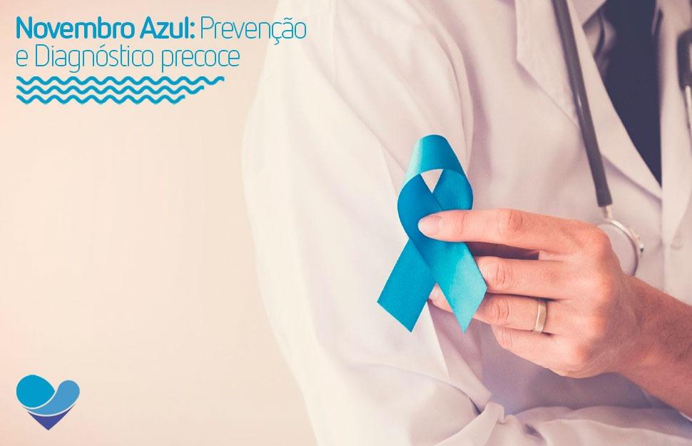 Novembro azul é uma campanha que visa conscientizar acerca do câncer de próstata. Preparamos um texto com alguns fatores que ajudam na prevenção da doença.