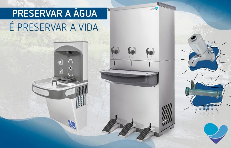 Produtos Cânovas que contribuem com o meio ambiente e preservação da água.