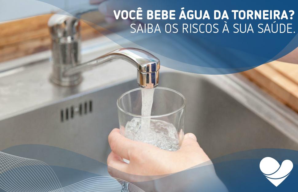 Você sabia que ingerir a água da torneira pode trazer sérios problemas à saúde? Separamos alguns riscos que ela pode causar a você.