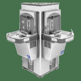 Bebedouro Acessível Life em Inox Cód.500 SEM contato manual